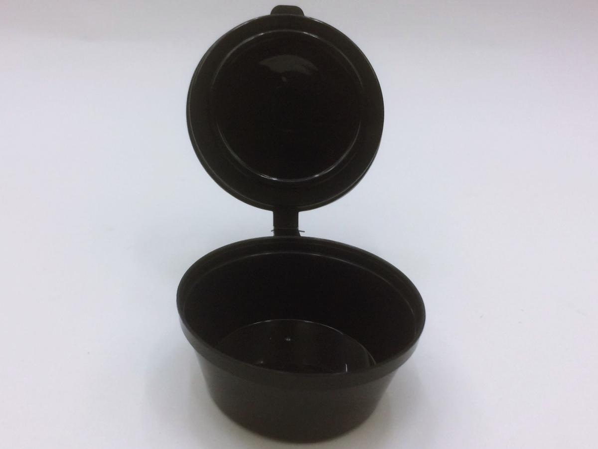 ถ้วยน้ำจิ้ม สีดำ